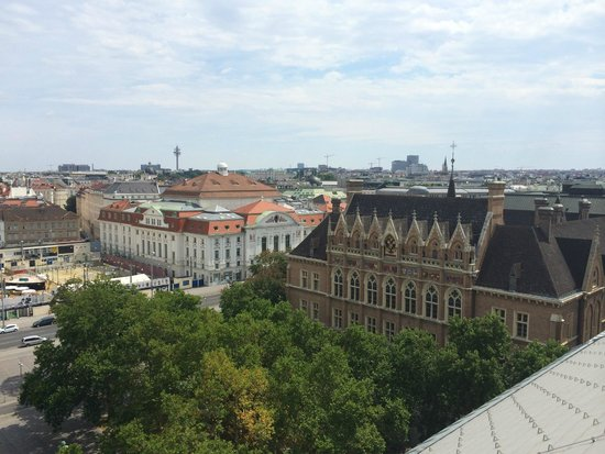 The Ritz-Carlton, Vienna: View from the roof bar