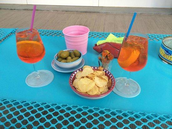 MAREE HOTEL: aperitivo