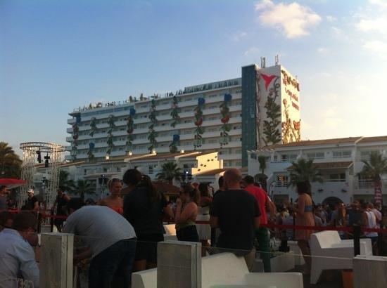 Ushuaia Ibiza Beach Hotel : usuhaia