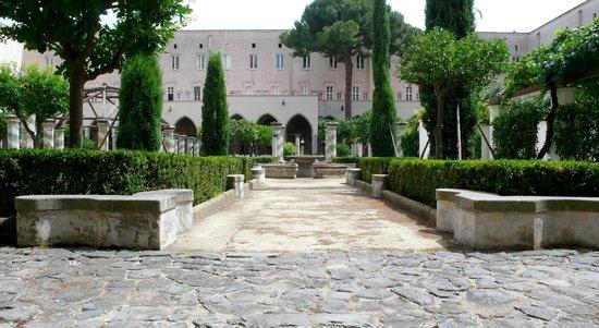 Complesso Museale di Santa Chiara: cloitre