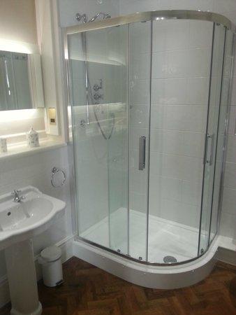 Llangoed Hall: Shower
