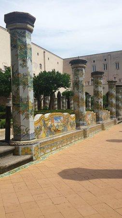 Complesso Monumentale di Santa Chiara: majoliques
