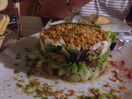 Mirador de Garachico : Espectacular ensalada de bacalao, repetitia��