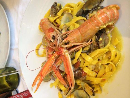 SOHO: Фетучинни с морепродуктами