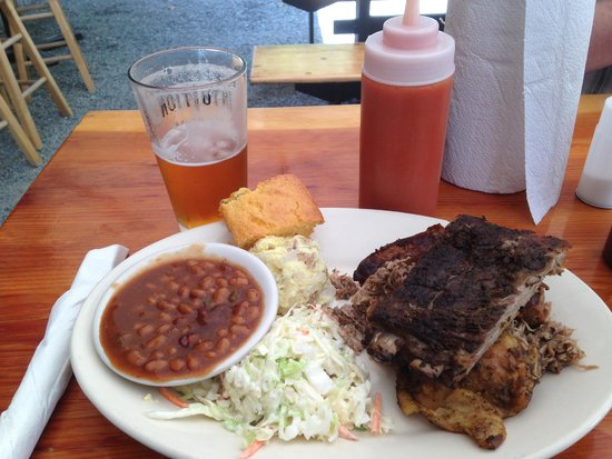 Mainely Meat Barbeque : BBQ Sampler