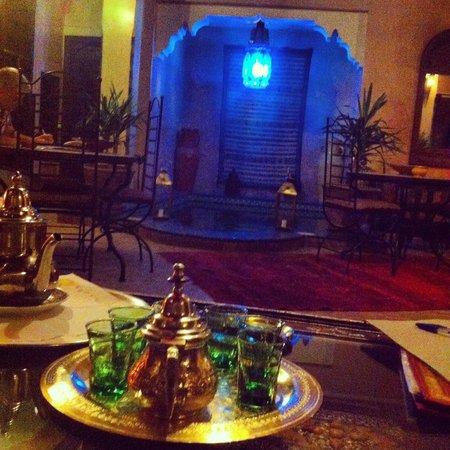 Riad Lapis-Lazuli: Chegada ao Riad