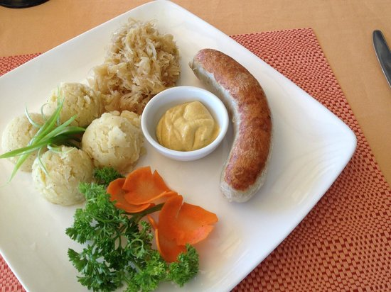 Papa Fred's Steakhouse: Veal Sausage