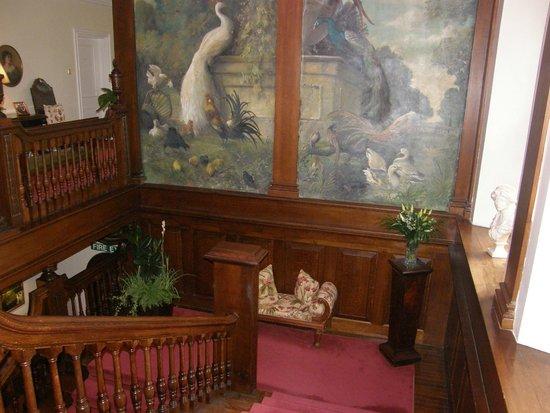 Llangoed Hall: Staircase
