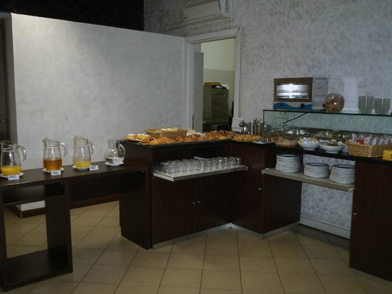 Hotel Guidi: Breakfast area