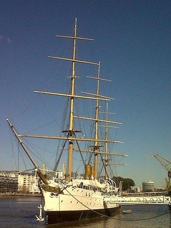 Puerto Madero: Fragata / barco - Museo