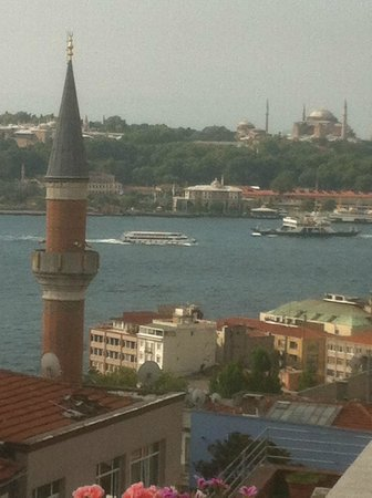 MySuite Istanbul: View from balcony