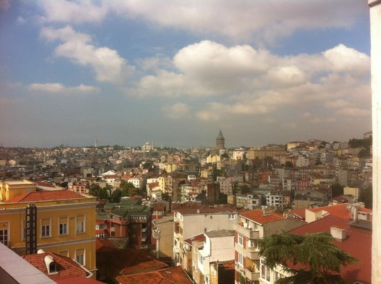 MySuite Istanbul: View from balcony master bedroom