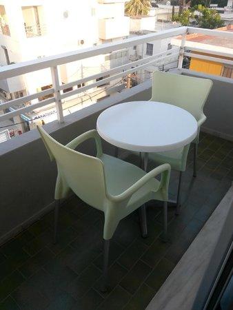 Nafsika Hotel: balcone