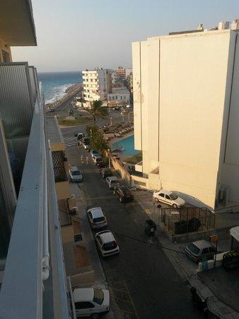 Nafsika Hotel: vista dalla camera