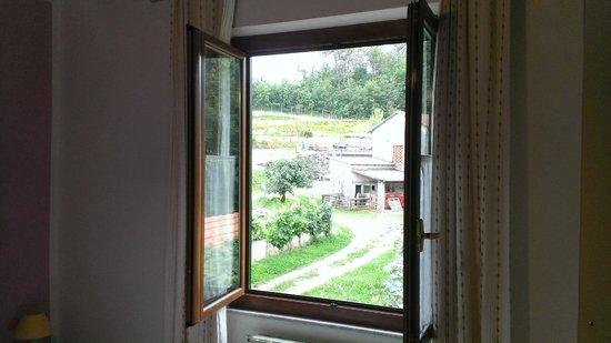 La collina di Terme: view from the room