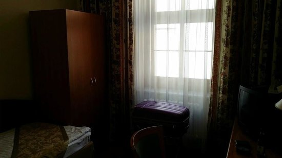 Grandhotel Brno : My room (sorry for poor quality of the pic)