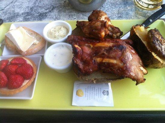 Al'Patat'rie : Mixed grill menu