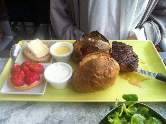 Al'Patat'rie : Steak menu