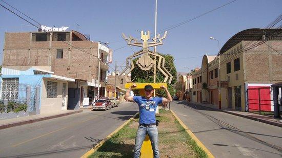 La Araña: Vecina de Nazca House