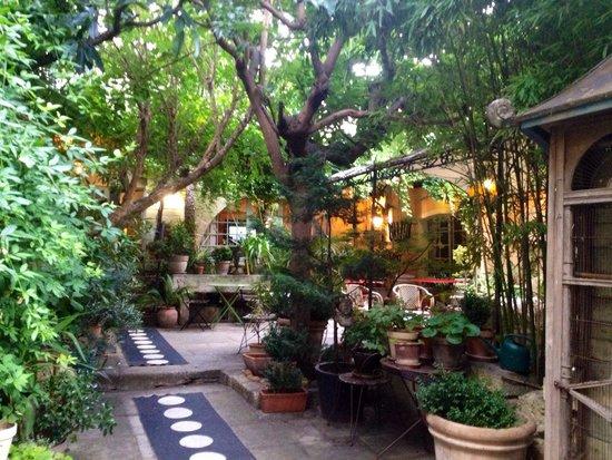 La Paillere : Magnifique patio/entrée