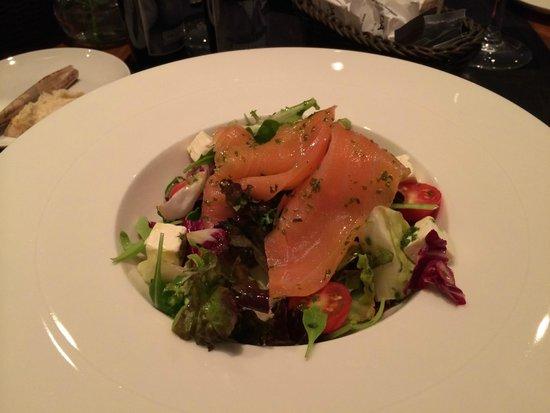 Alexandra Barcelona A DoubleTree By Hilton : Вкусный салат