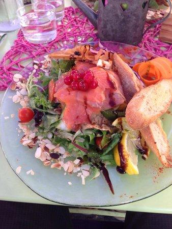 Le Pré Vert : Salade hibiscus
