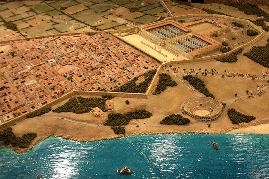 Maqueta de Tarraco