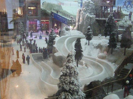 Ski Dubai: la pista di slittino