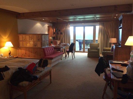 Interalpen-Hotel Tyrol: Camera doppia tipologia 2