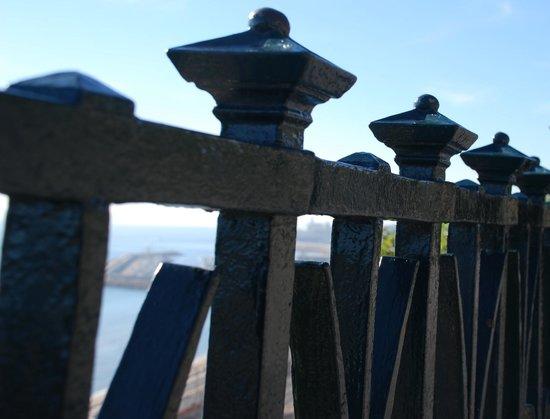 Balcón del Mediterráneo: barandilla