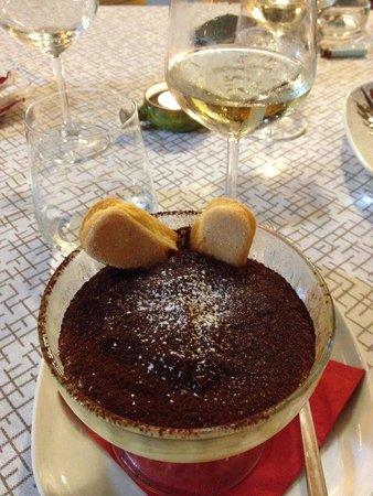 Ristorante & Apericena Balthazar: Home made delicious Tiramisu