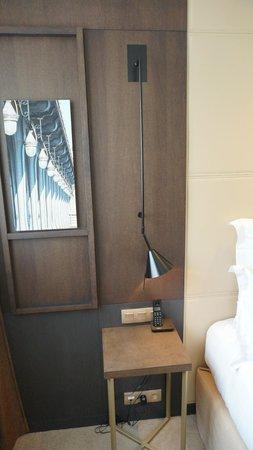 Hotel Villa Saxe Eiffel : large bedroom