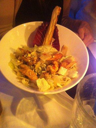The African Queen : Chicken Caesar salad