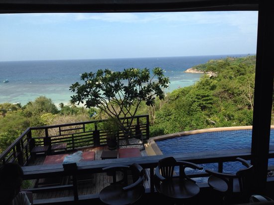 Chintakiri Resort: View at breakfast