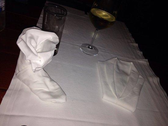 Restaurant Santo: Tavolo