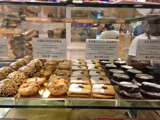Eataly: See those two little words under the names of the items? GLUTEN FREE!!!