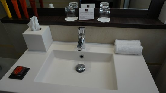 Hotel Villa Saxe Eiffel : Gorgeous bathroom