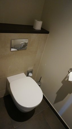 Hotel Villa Saxe Eiffel : second bathroom in the delux room- only for the toilet