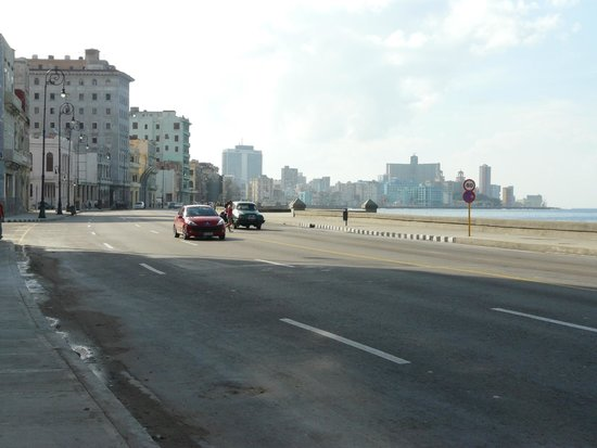 El Malecon : And during a sunny day