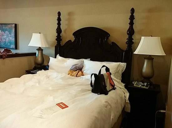 Sunrise Lodge by Hilton Grand Vacations : Lovely bedroom 369
