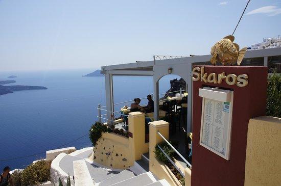 Skaros Fish Restaurant: Restaurant Skaros