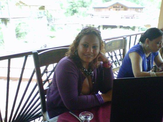Hotel Gran Jimenoa: Restaurante Piedra del Rio