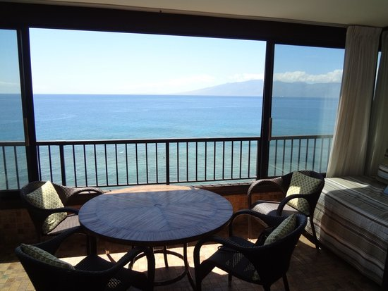 Maui Kai: Room 905 screened in patio