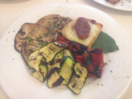 Ristorante La Briciola : Verdura griliate