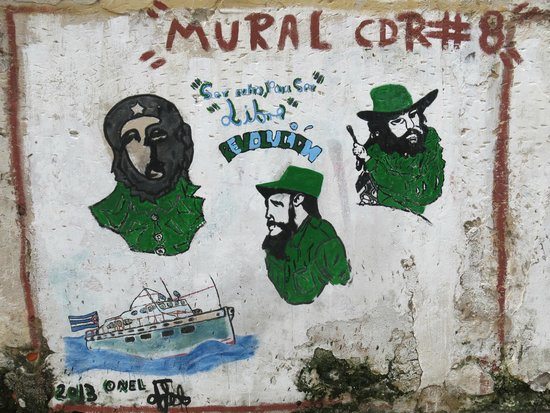 Old Havana: Wall painting