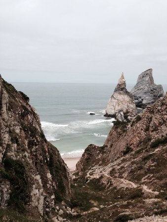 Cabo da Roca: It is a long way up