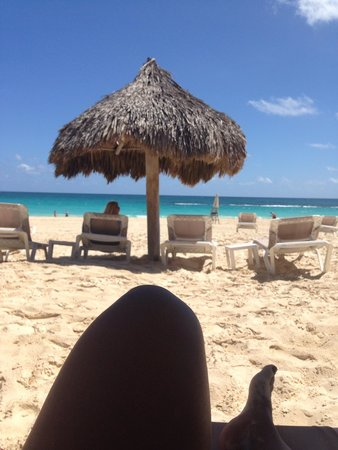 Hard Rock Hotel & Casino Punta Cana: View from beach in front of la isla restaurant