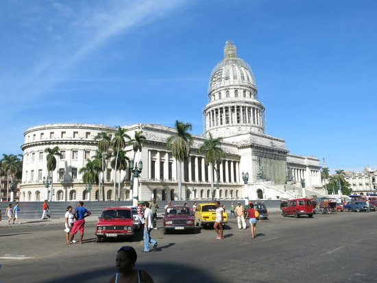 Old Havana: Capitolio in its beauty