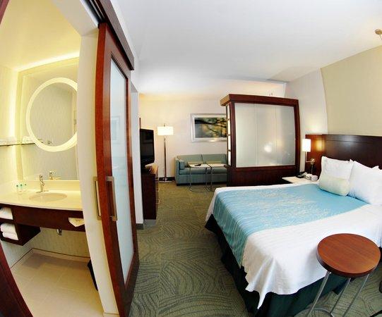 SpringHill Suites Quakertown: Spacious King Suite