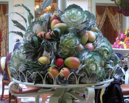 Wynn Las Vegas: Arrangements on Buffet restaurant